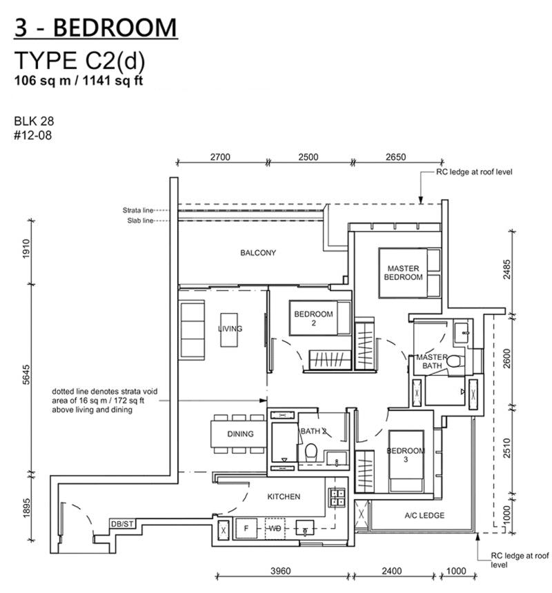 haus on handy floor plan_3br